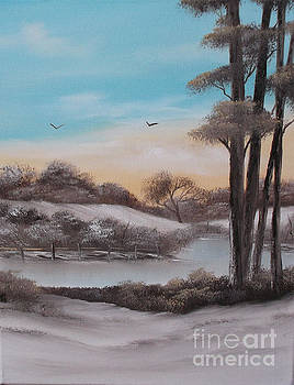 Winter Drifting Along.For Sale by Cynthia Adams