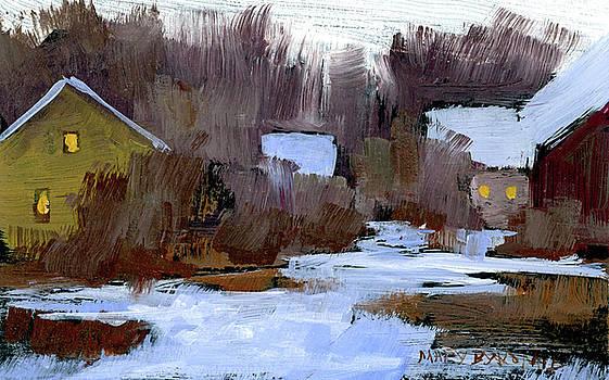 Mary Byrom - Winter Evening