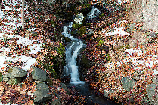 Winter Falls at Franny Reese by Jeff Severson