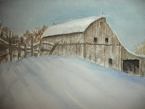 Winter Farm by Constance Larimer