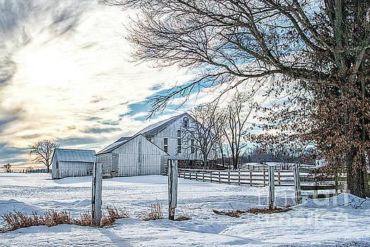 Winter Farm by Craig Leaper