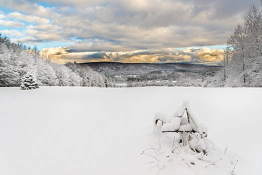 Chris Bordeleau - Winter Farm Field