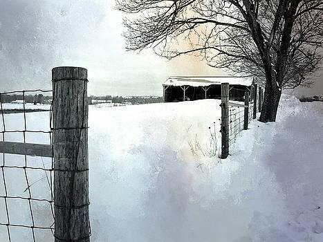 Winter Farm by Lee Fortier