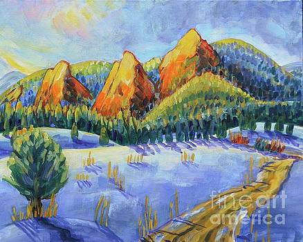 Winter Flatirons by Harriet Peck Taylor