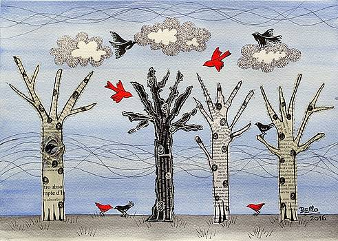 Winter Flights by Graciela Bello