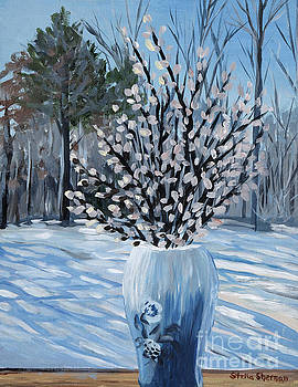 Winter Floral by Stella Sherman