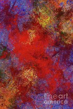 Tito - Winter Flowers, Abstract Painting by Tito