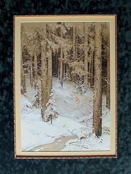 Winter Forest by Anna Ankudinova