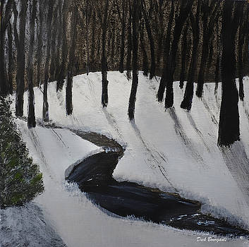 Winter Forest by Dick Bourgault