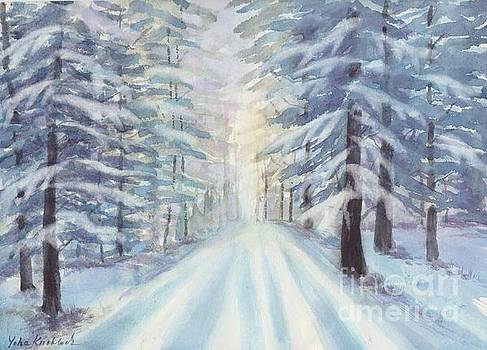 Winter Forest by Yohana Knobloch
