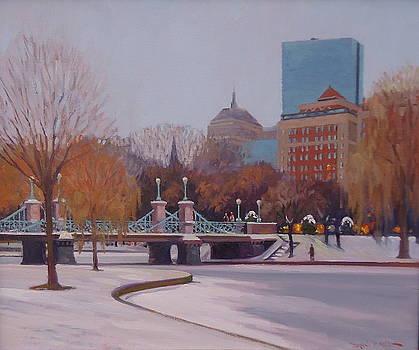 Winter Garden by Dianne Panarelli Miller