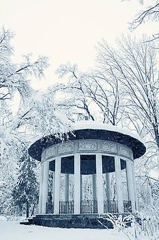 winter gazebo by Iuliia Malivanchuk by Iuliia Malivanchuk
