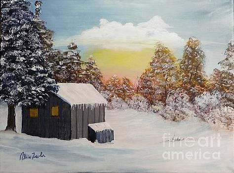 Winter Getaway by Alicia Fowler