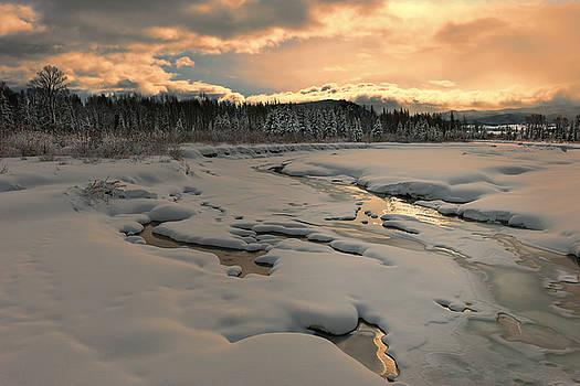 Sandra Bronstein - Winter Glory in Grand Teton National Park