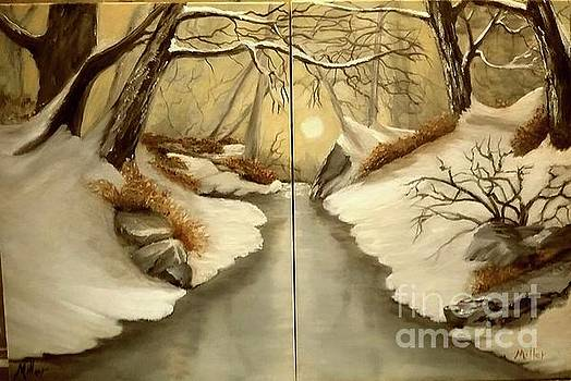 Winter Glow by Peggy Miller