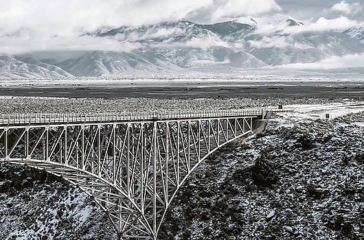 Winter Gorge Bridge  by Britt Runyon