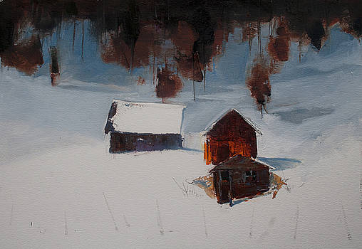 Winter Homestead by Gregg Caudell