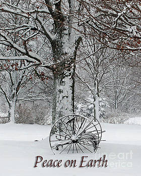 Winter Hush Peace on Earth by Diane E Berry