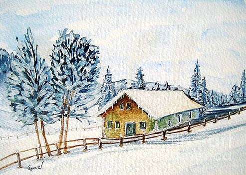 Winter idyll by Christine Huwer