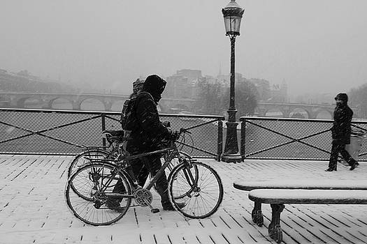 Winter in Paris by Kamala Saraswathi