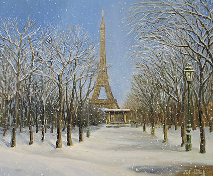 Winter In Paris by Kiril Stanchev