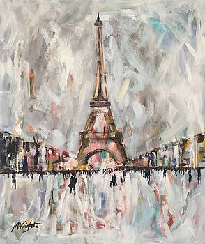Winter In Paris by Molly Wright