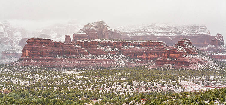 Winter in Sedona by Racheal Christian