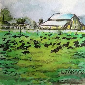 Winter in the Bottoms by Lynn Takacs