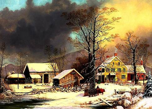 Peter Gumaer Ogden - Winter in the Country A Cold Morning
