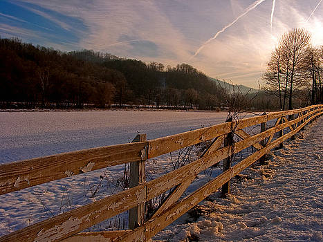 Winter in the country. by Itai Minovitz