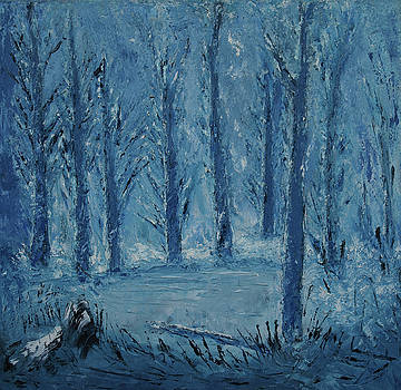 Winter In The Forest by Iancau Crina