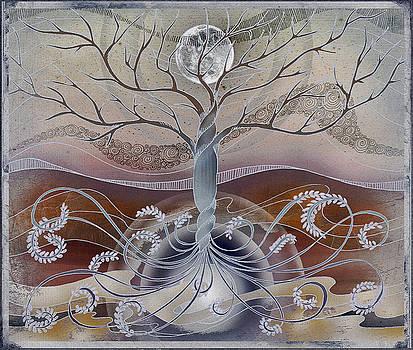 Winter In The Garden Of Eden by Brenda Erickson