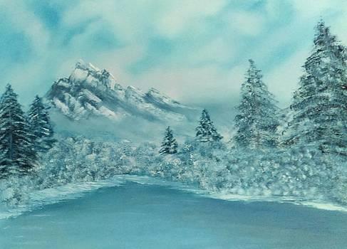 Ilona MONTEL - Winter in the Mountains
