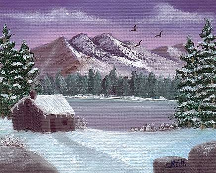 Winter in the Mountains by Sheri Keith