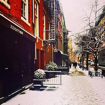 Winter in the West Village by Kathleen McGinley
