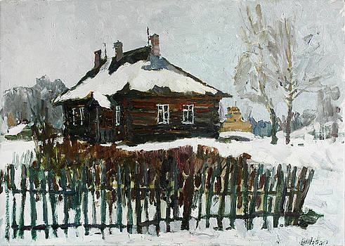 Winter in Trigorskoye by Juliya Zhukova