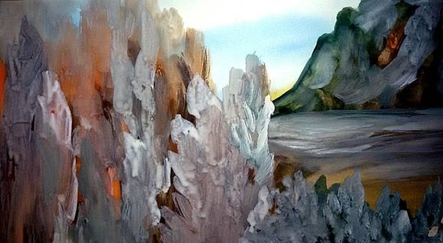 Winter is slipping away by Madina Kanunova
