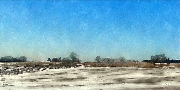 Winter Landscape 3 by Wolfgang Schweizer