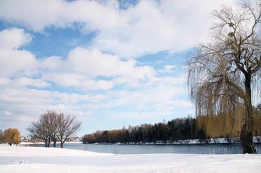 winter landscape by Iuliia Malivanchuk by Iuliia Malivanchuk