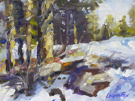 Leona  Fox - Winter Landscape