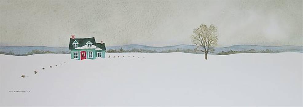 Winter Landscape by Mary Ellen Mueller Legault