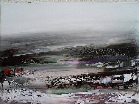 Winter Landscape by Nelu Gradeanu