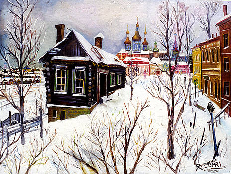 Ari Roussimoff - Winter Landscape With Church