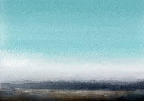 Winter Landscape by Wolfgang Schweizer