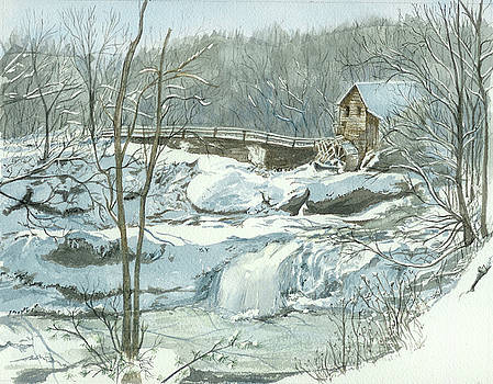 Winter Mill by Lynn Babineau