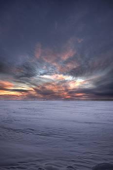 Winter Morning Abstract by Jakub Sisak