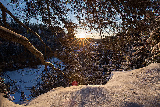 Winter Morning Hike at Kakabeka Falls 5 by Jakub Sisak