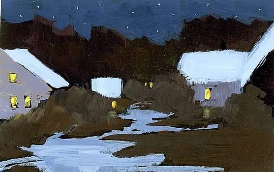 Winter Night by Mary Byrom