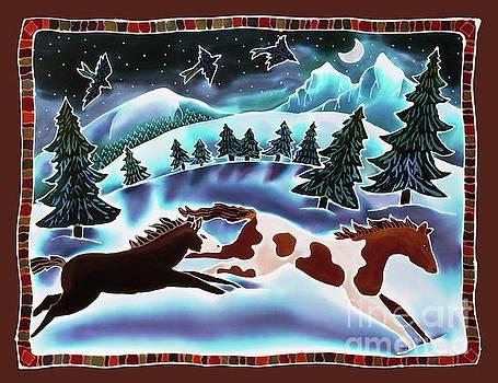 Harriet Peck Taylor - Winter Night Run
