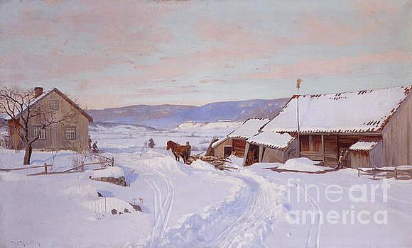 Winter  by Nils Hansteen